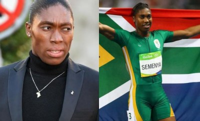 I had to walk naked to prove to people I was a girl ? Caster Semenya