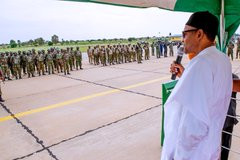 Eliminate bandits anywhere you find them- President Buhari orders troops (video)