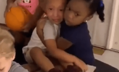 This video of a baby girl consoling her daycare mate is the best thing you would see on the internet today