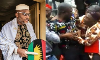 Nnamdi Kanu says attack on Senator Ike Ekweremadu is a courageous act