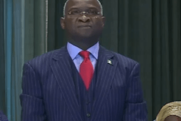 Fashola out as Minister of Power