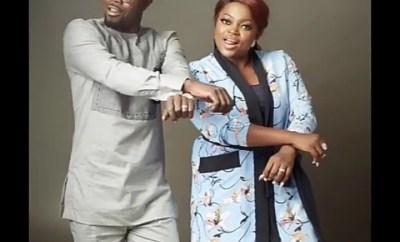 """""""My king I love you Baba Ibeji"""" - Funke Akindele showers husband JJC Skillz with accolades as they mark their wedding anniversary"""
