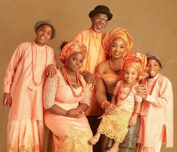 NFF President, Amaju Pinnick shares adorable family photos