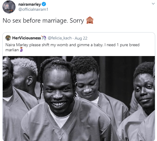 Image result for Between Naira Marley and a lady who asked him to impregnate her