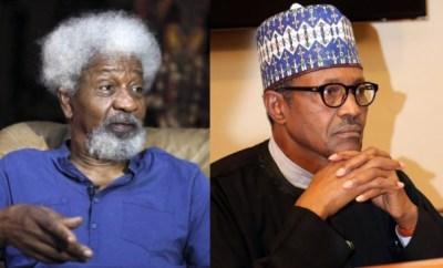 Stop using security agencies to silence Nigerians - Soyinka tells Buhari