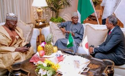 Photos: President Buhari arrives Japan despite IPOB threat