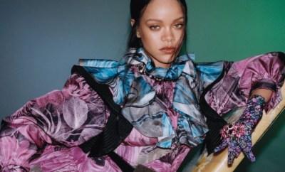 Photos: Rihanna covers the September edition of?Vogue Hong Kong