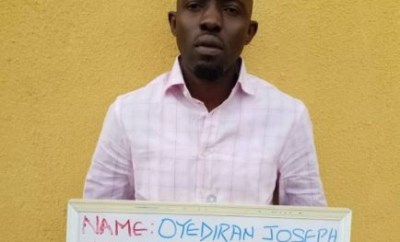 EFCC arrests Nigerian internet fraudster wanted by FBI