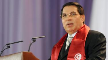 Former Tunisian President Zine al Abidine Ben Ali