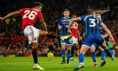 Mason Greenwood gave Manchester United the lead