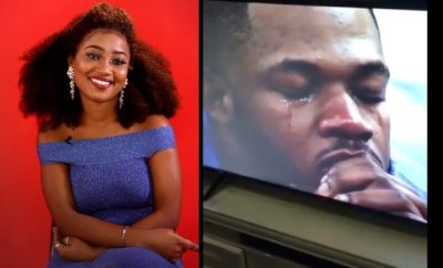 BBNaija: Esther evicted from the Big Brother House, Frodd cries (video)