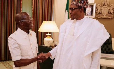President Buhari can beat his chest to say he has done very well- Adams Oshiomhole