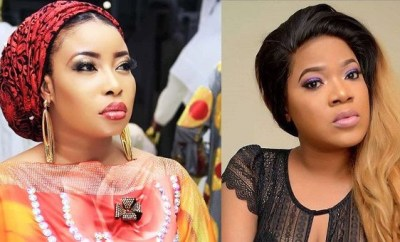 Lizzy Anjorin mocks Toyin Abraham after being served legal papers for defamation (video)