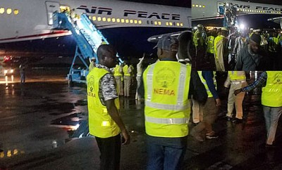 Second batch of Nigerians arrive from South Africa