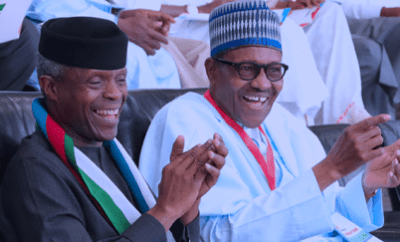 Presidency speaks on Buhari sidelining Osinbajo after allegedly stripped of powers over some agencies