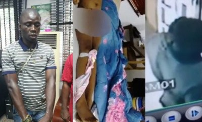 Moment Port Harcourt hotel serial killer confessed to killing girls in Rivers state and tying handkerchief on their neck and leg (video)