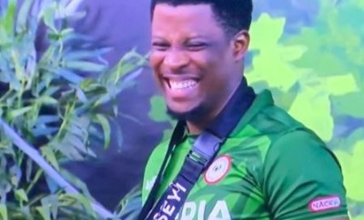 #BBNaija:?Seyi wins Head of House for the third time and he