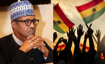President Buhari reacts to failed coup in Ghana