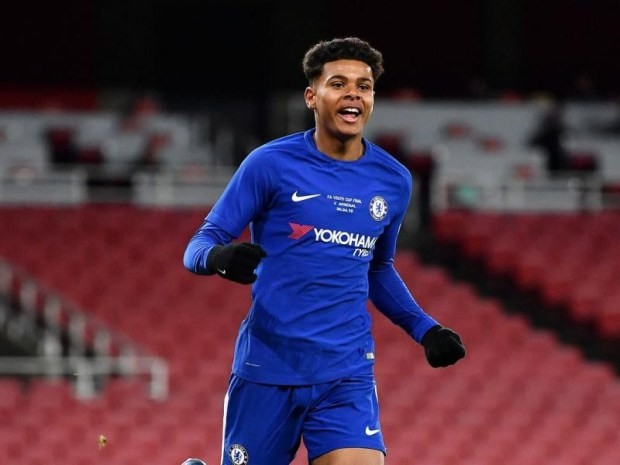 Meet Faustino Anjorin, the 17 year old Nigerian player who made history for Chelsea (photos)