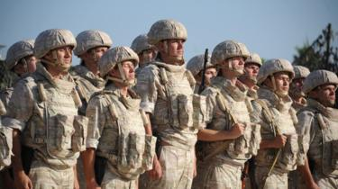 Russian soldiers in Syria, 26 September