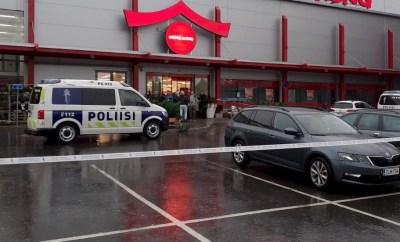 One dead, 10 injured as swordsman attack Finnish Vocational College