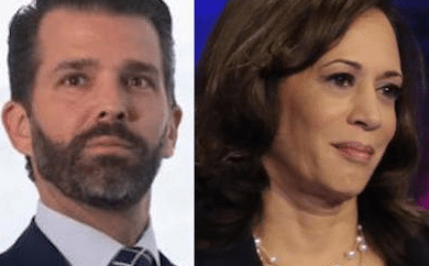 Senator Kamala Harris claps back at Donald Trump Jr. on Twitter