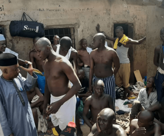 Police discover torture center with 300 inmates in President Buhari?s town (Photos)
