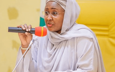 Aisha Buhari apologizes over leaked video of her shouting in Aso Villa