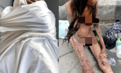 Update on naked emaciated woman filmed at Jubilee bridge Ajah