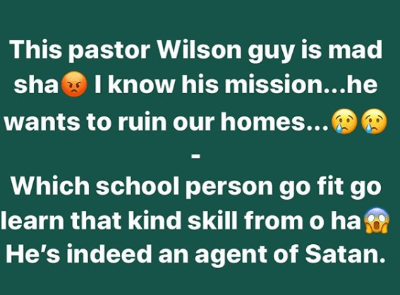 He?should start a school where he can teach Christians how to please their partners - Daddy Freeze reacts to Pastor Wilson