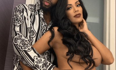 Erica Mena goes naked from the waist up then thanks new husband Safaree for loving her