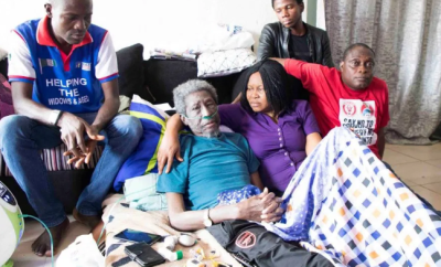 Veteran actor and broadcaster,?Sadiq Daba is sick again (Photo)