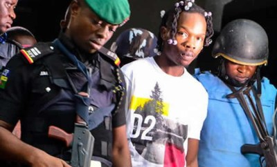Stolen UK, US banks? credit card among evidence allegedly found in Naira Marley