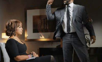 """I thought he might accidentally hurt me"" Gayle King recalls her explosive R. Kelly interview (video)"