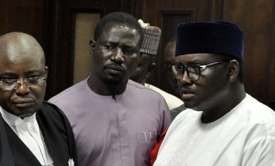 Court remands Maina, son in prison (photos)