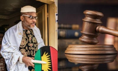 Prison is the safest place for you - Court tells Nnamdi Kanu