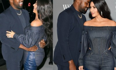 Kim Kardashian and Kanye West pack on the PDA as they attend star-studded WSJ Magazine Innovator Awards (Photos)