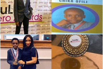 12-year-old Nigerian boy wins Special Recognition award for discovering a new Mathematics formula