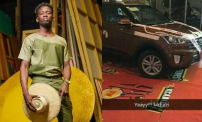 Mr Eazi calls out Hip TV for allegedly failing to give him the car that came with the Next Rated Award he won at the 2016 Headies