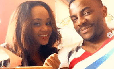 Ebuka shares the first selfie he took with his wife, Cynthia as he celebrates her on her birthday