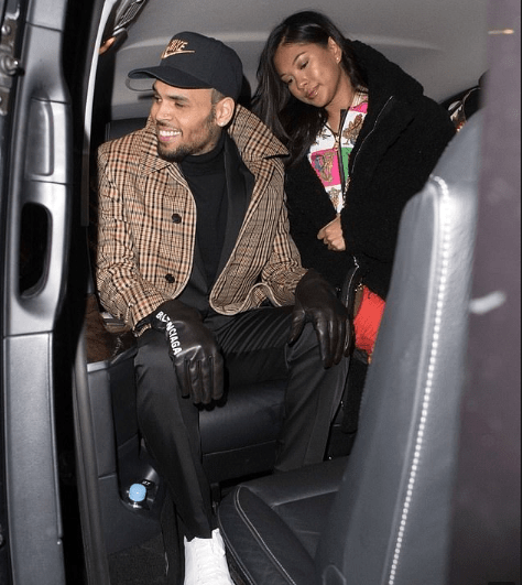 Chris Brown reveals the name of his newborn son with ex-girlfriend Ammika Harris