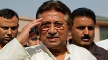 Gen Musharraf seen at 2013 election event