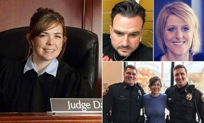 Female judge accused of having threesomes and group sex with lawyers in her chambers