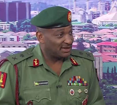 Using phones at checkpoint is wrong ? Nigerian Military Chief warns