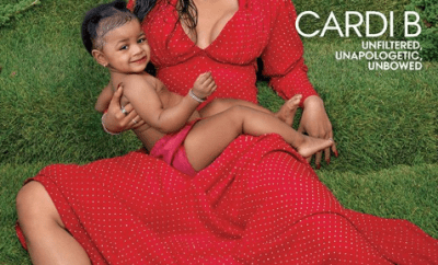 Cardi B and her daughter Kulture cover Vogue magazine (photos)