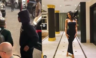 Future arrives Lagos with girlfriend, Lori Harvey (videos/photos)