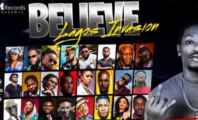 L-J Saaaviour Announces Believe Lagos Invasion Concert