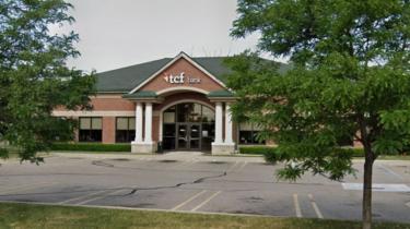 The Livonia bank branch where Sauntore Thomas alleges he faced racial discirmination