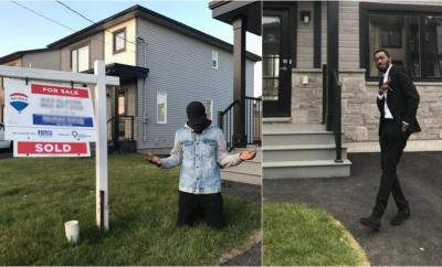 Ex-EFCC Twitter handler,  Fshaw buys himself a house after leaving the country