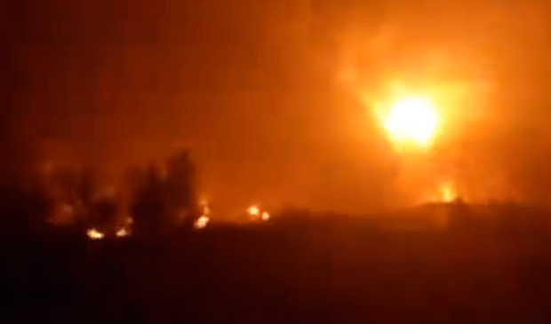 Pipeline explosion rocks Abule Egba in Lagos (video)